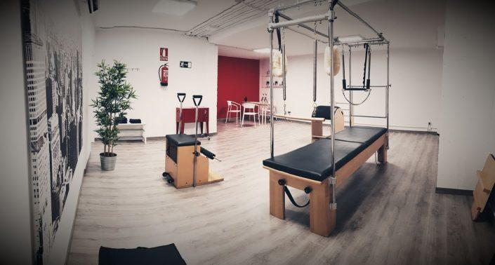 Vista del Estudio de Pilates de Alvaro Croce en Marbella